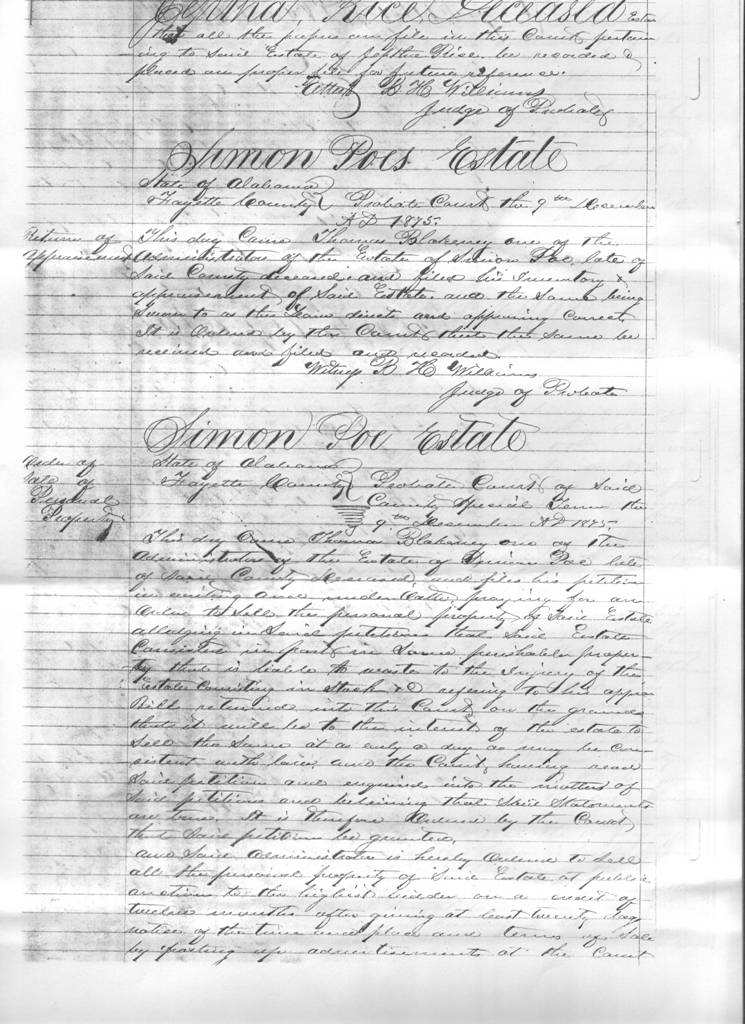 Poe Family in Alabama Historical Maps Census Military Notes